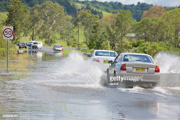 Driving Through Floodwater