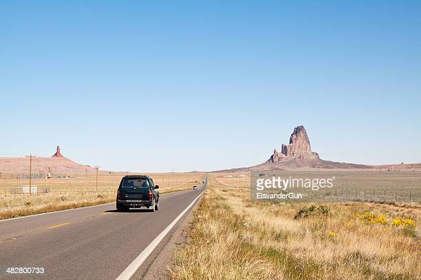driving through monument valley - september stock pictures, royalty-free photos & images