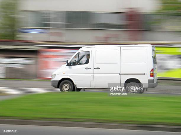 Driving van speed