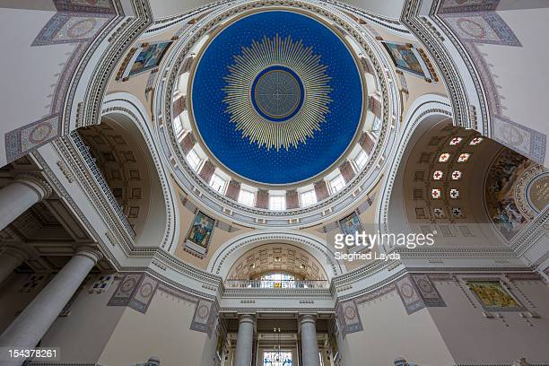 dr-karl-lueger-kirche - kirche stock pictures, royalty-free photos & images