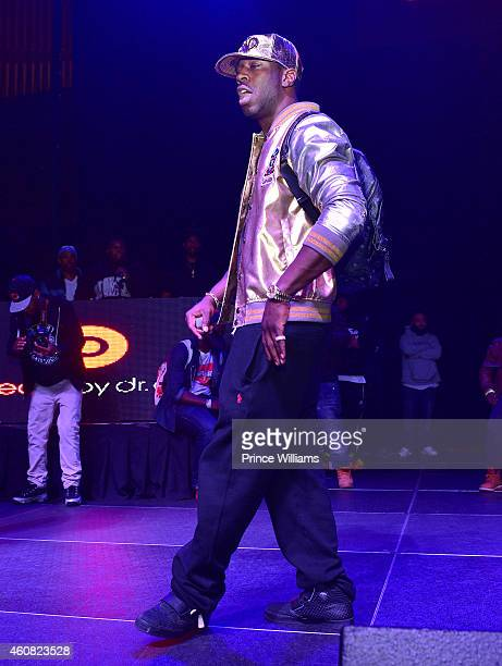 Dro Performs at the 5th annual Street Execs Christmas Concert at The Tabernacle on December 22, 2014 in Atlanta, Georgia.