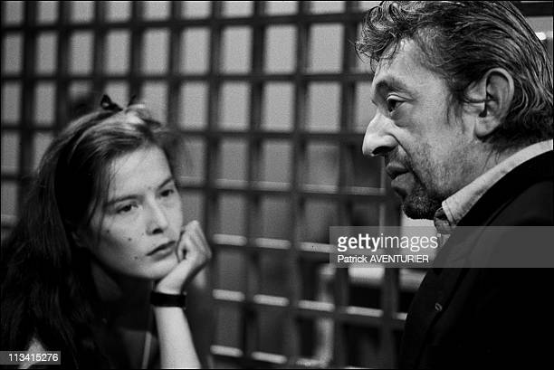 'Droit De Reponse' On May 12Th 1984 In Paris France Here Nb 215317 Serge Gainsbourg Bambou