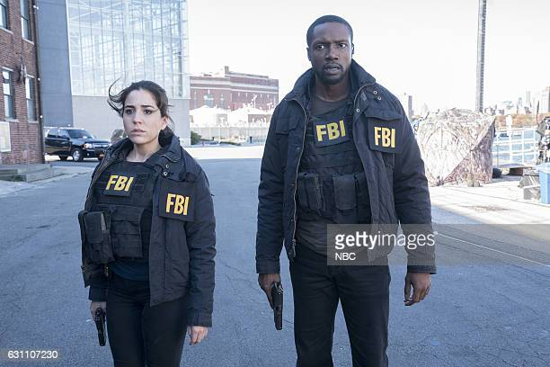 BLINDSPOT Droll Autumn Unmutual Lord Episode 211 Pictured Audrey Esparza as Zapata Rob Brown as Edgar Reade