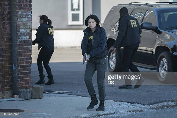BLINDSPOT 'Droll Autumn Unmutual Lord' Episode 211 Pictured Audrey Esparza as Tasha Zapata Jaimie Alexander as Jane Doe Rob Brown as Edgar Reade
