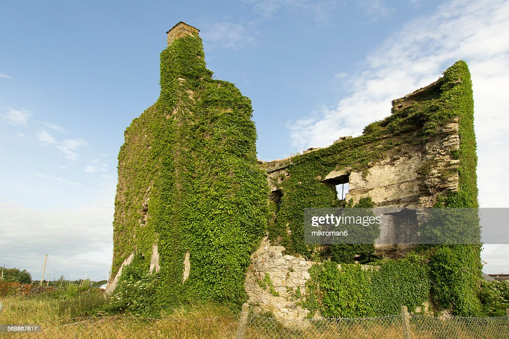Dromineer Castle, Ireland Tipperary. : Stock Photo