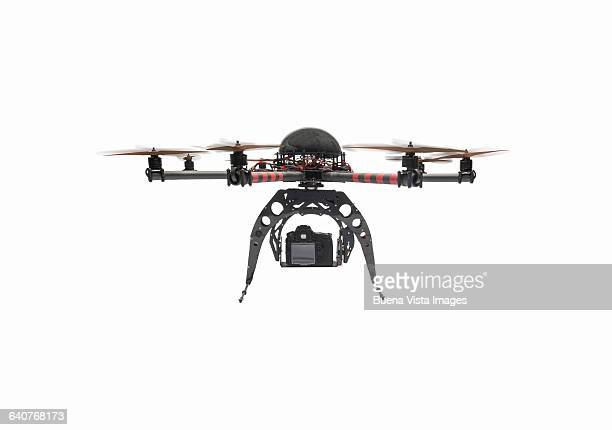 Drone against a white background