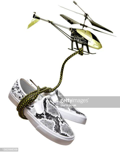 "drone delivers shoes - ""shana novak"" stock pictures, royalty-free photos & images"