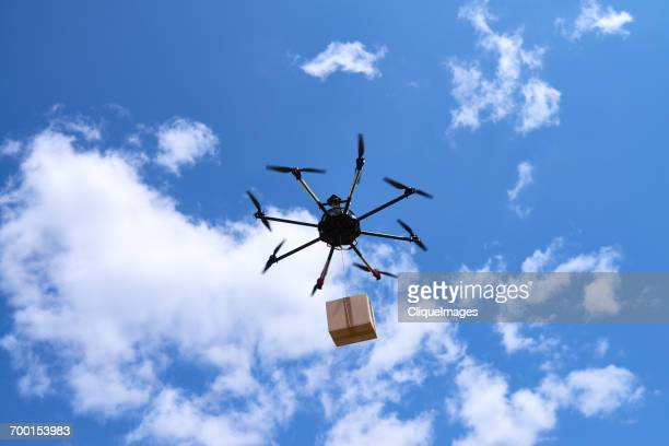 drone delivery - cliqueimages stock pictures, royalty-free photos & images