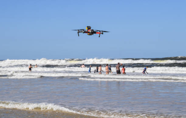 AUS: Surf Lifesavers Use Drone Technology To Help Keep Australians Safe At The Beach