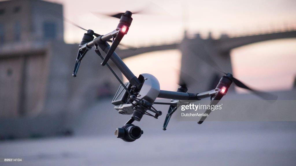 Drone in Flight : Stock Photo