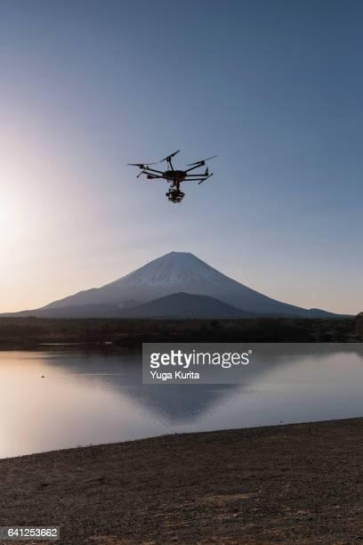 drone in japan - 無人操縦機 ストックフォトと画像
