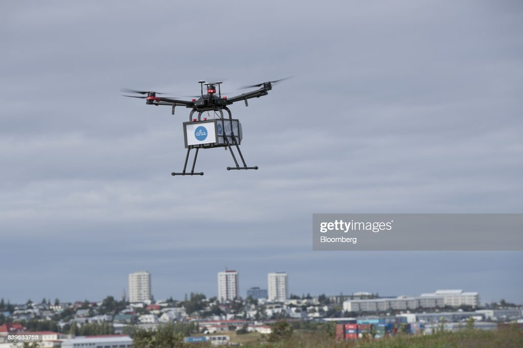 Iceland Set To Become Island Of Drone Deliveries : News Photo