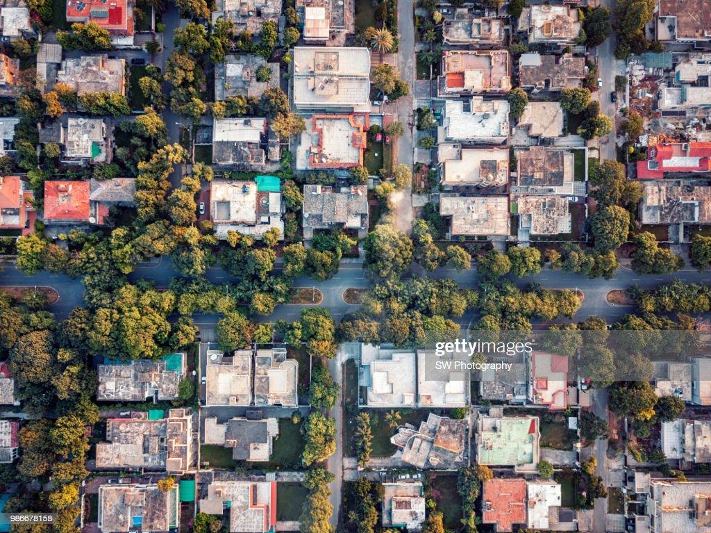 Drone Photo Of Islamabad City Pakistan Stock Photo - Getty