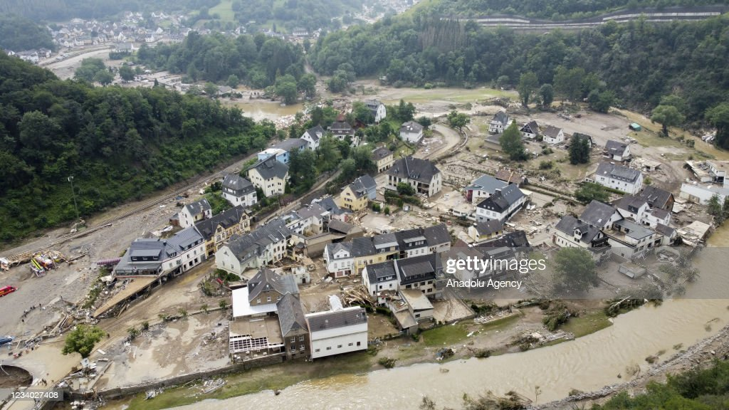 Death toll from floods in Germany rises to 133 : Nachrichtenfoto