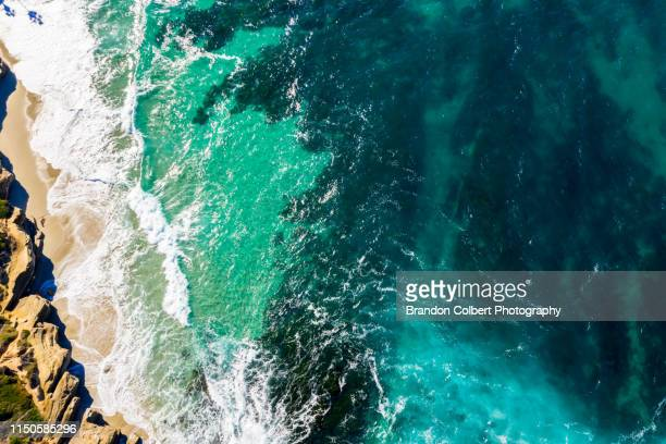 drone photography san diego - teal stock pictures, royalty-free photos & images