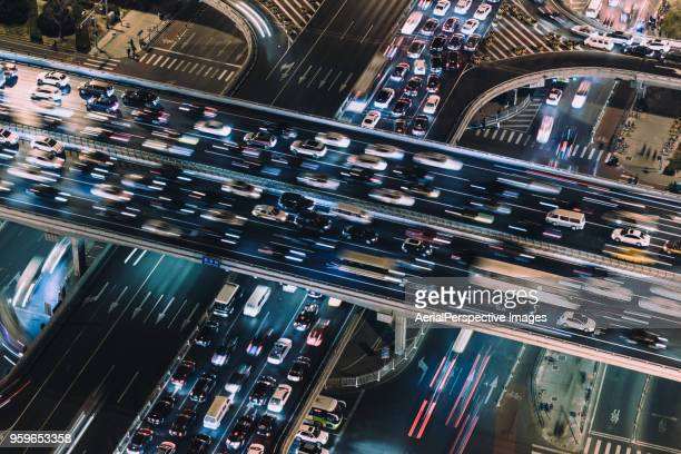 Drone Point of View, Traffic Jam
