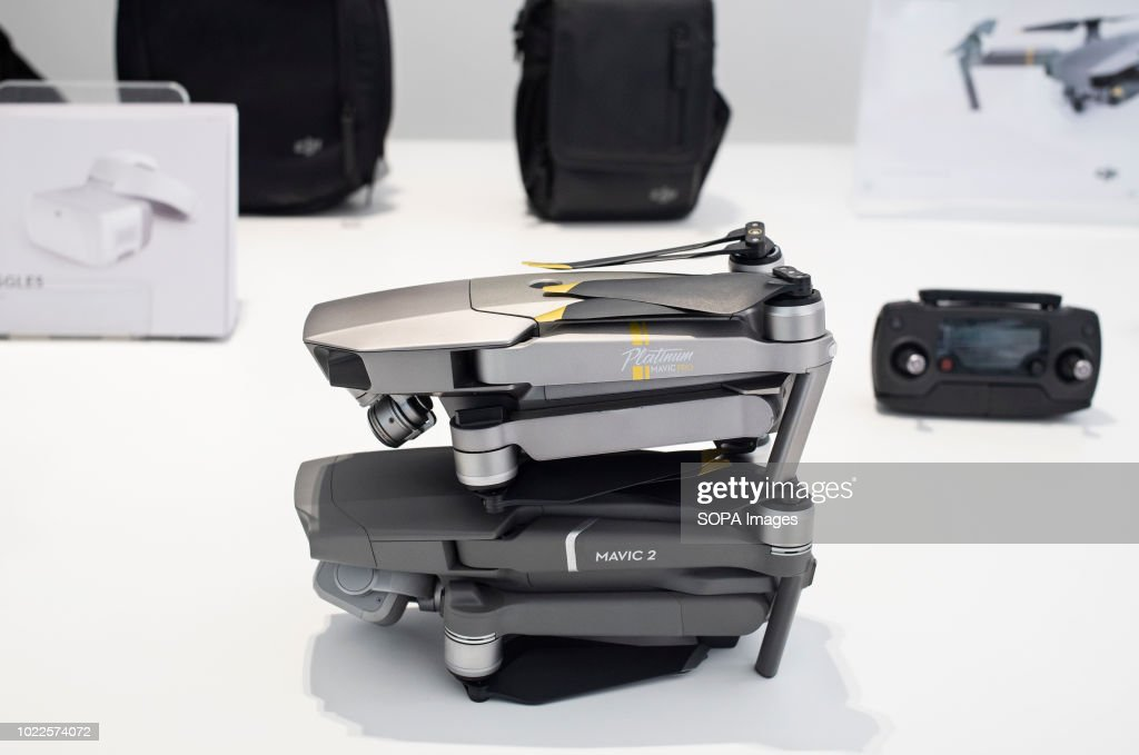 A Drone Size Comparison Between The New DJI Mavic 2 Pro Left And