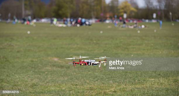 Drone taking of the ground
