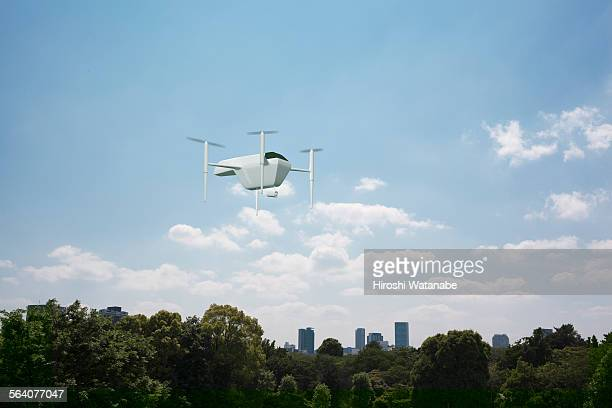 Drones guarding from the sky