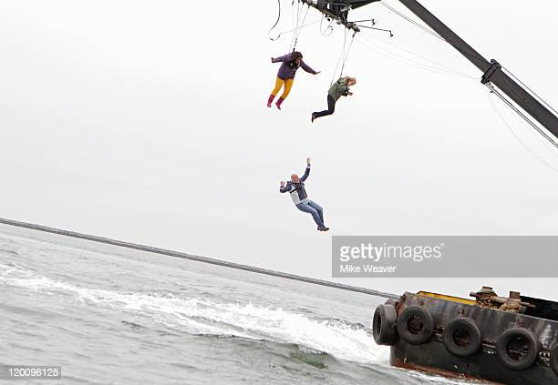 SHOW Drop Me Man Just Drop Me DROP ME In a season of the most wild and crazy eliminations ever seen on a game show including players being strapped...