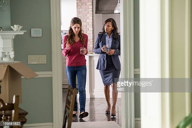 DECEPTION 'A Drop of Blood and a Microscope' Episode 103 Pictured Marin Hinkle as Samantha Bowers Meagan Good as Joanna Padget Locasto