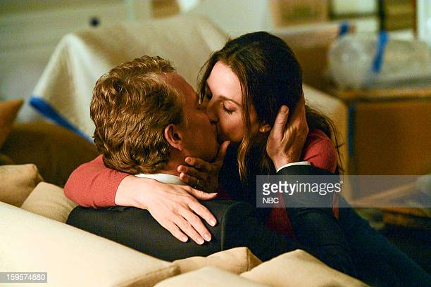 DECEPTION 'A Drop of Blood and a Microscope' Episode 103 Pictured Tate Donovan as Edward Bowers Marin Hinkle as Samantha Bowers