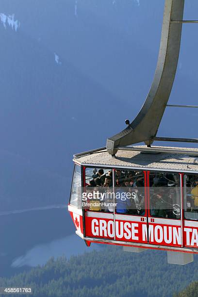 drop - grouse mountain stock photos and pictures