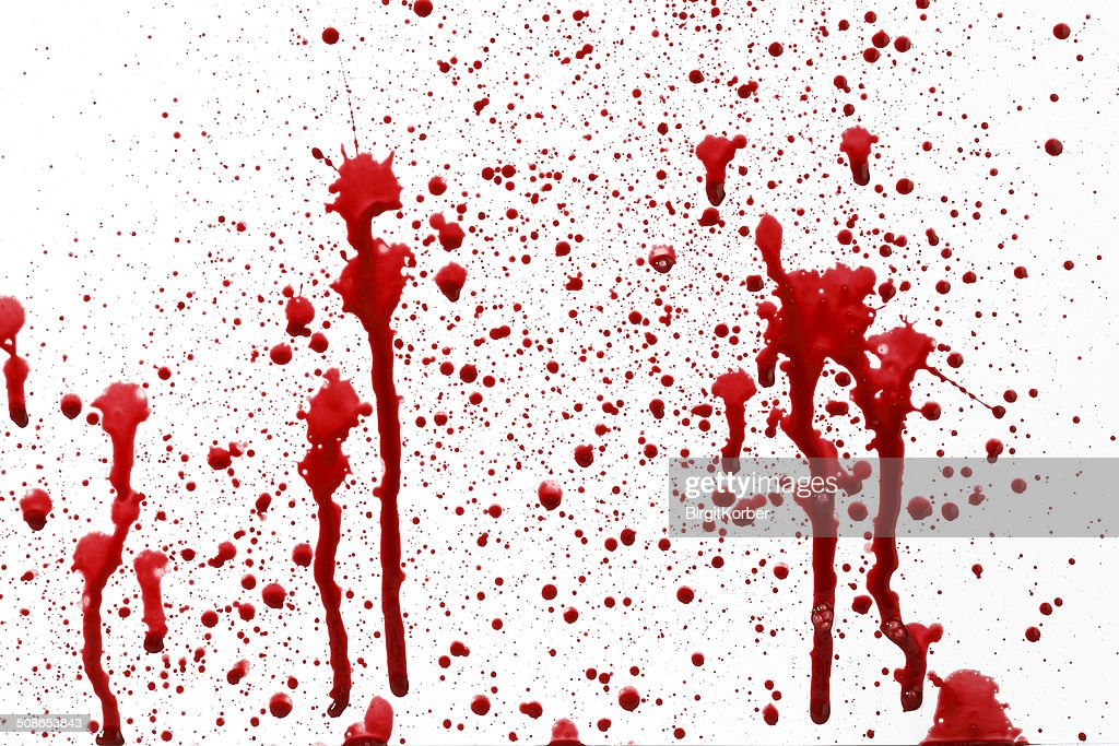 Drops of blood : Stock Photo