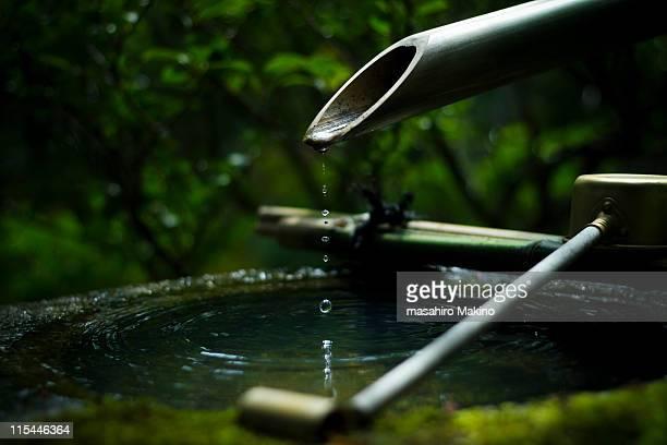 drops of zen - boeddhisme stockfoto's en -beelden