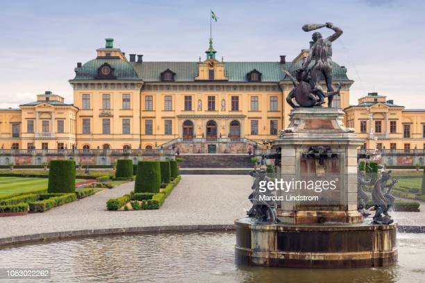 drottningholm palace - drottningholm palace stock pictures, royalty-free photos & images
