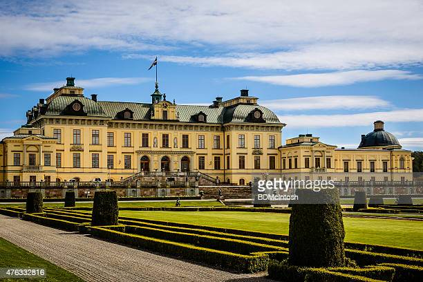 drottningholm palace, stockholm, sweden - drottningholm palace stock pictures, royalty-free photos & images