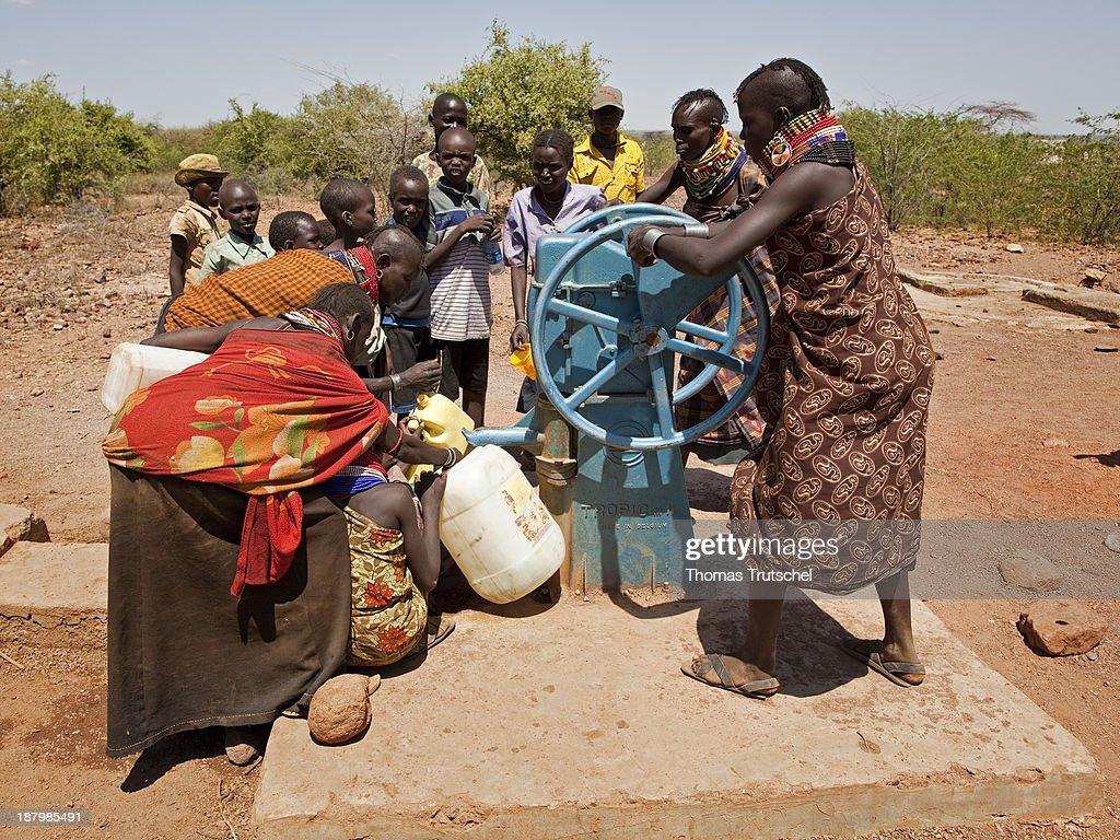 Water Shortage In North Kenya : News Photo