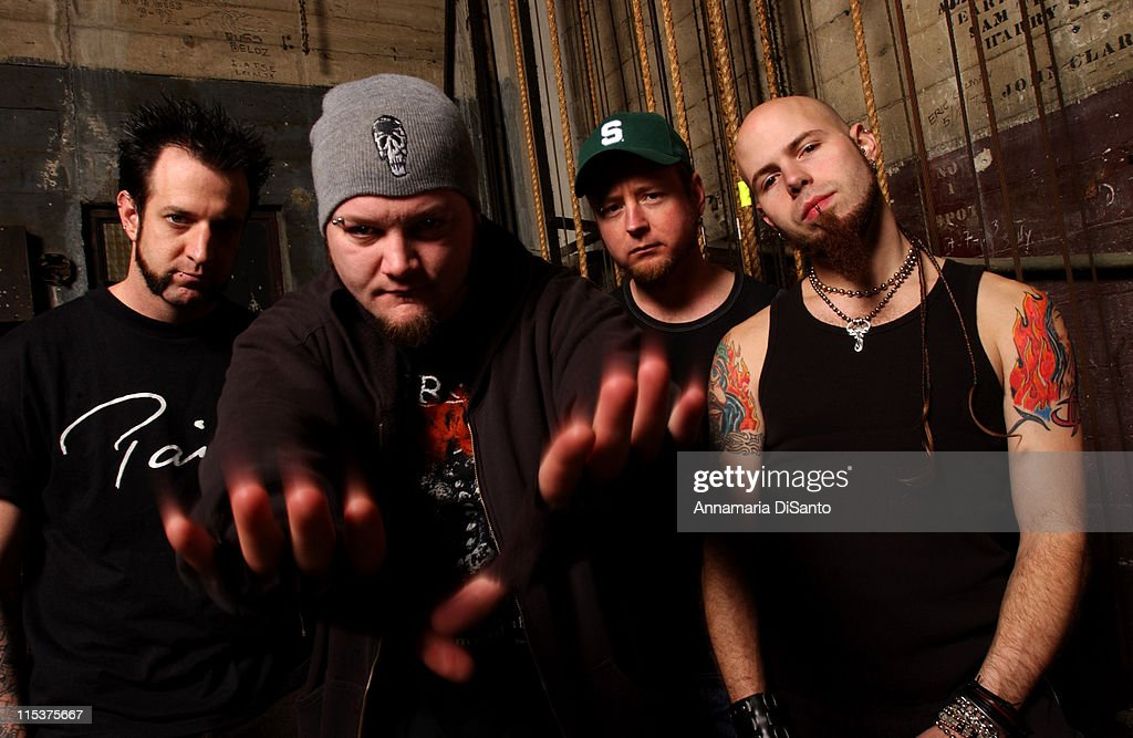 Drowning Pool Photo Session