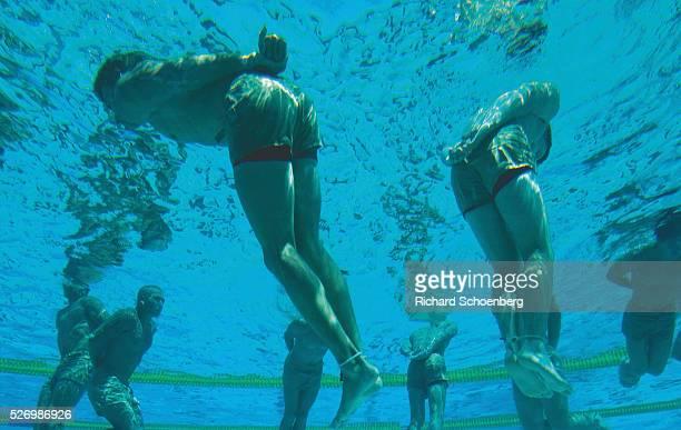 Drown-Proofing training underwater training Navy Seals