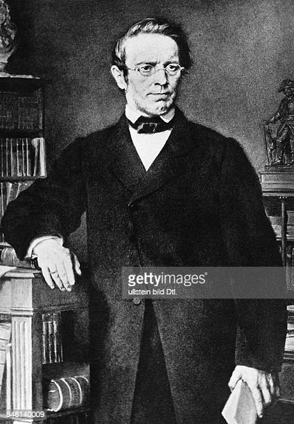 Droysen Johann Gustav Ferdinand Historian Germany *0607180819061884 Member of the Frankfurt Parliament Portrait undated Photographer Walter Gircke...