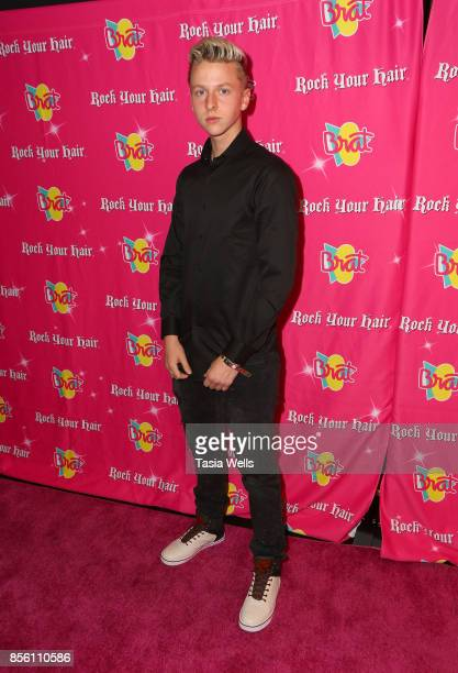 Dru Gregory at Rock Your Hair Presents Rock Back to School concert and party on September 30 2017 in Los Angeles California