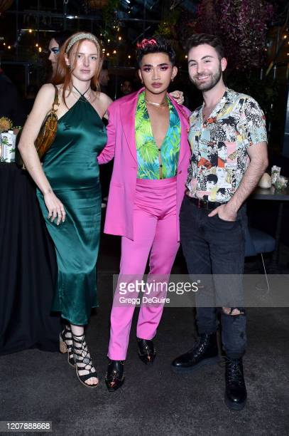 Dru Sasenbach Bretman Rock and Paul Samaha attend Jungle Rock x wet n wild on February 21 2020 in Los Angeles California