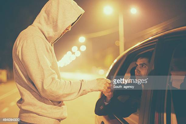 drug abuse transaction - heroin stock pictures, royalty-free photos & images