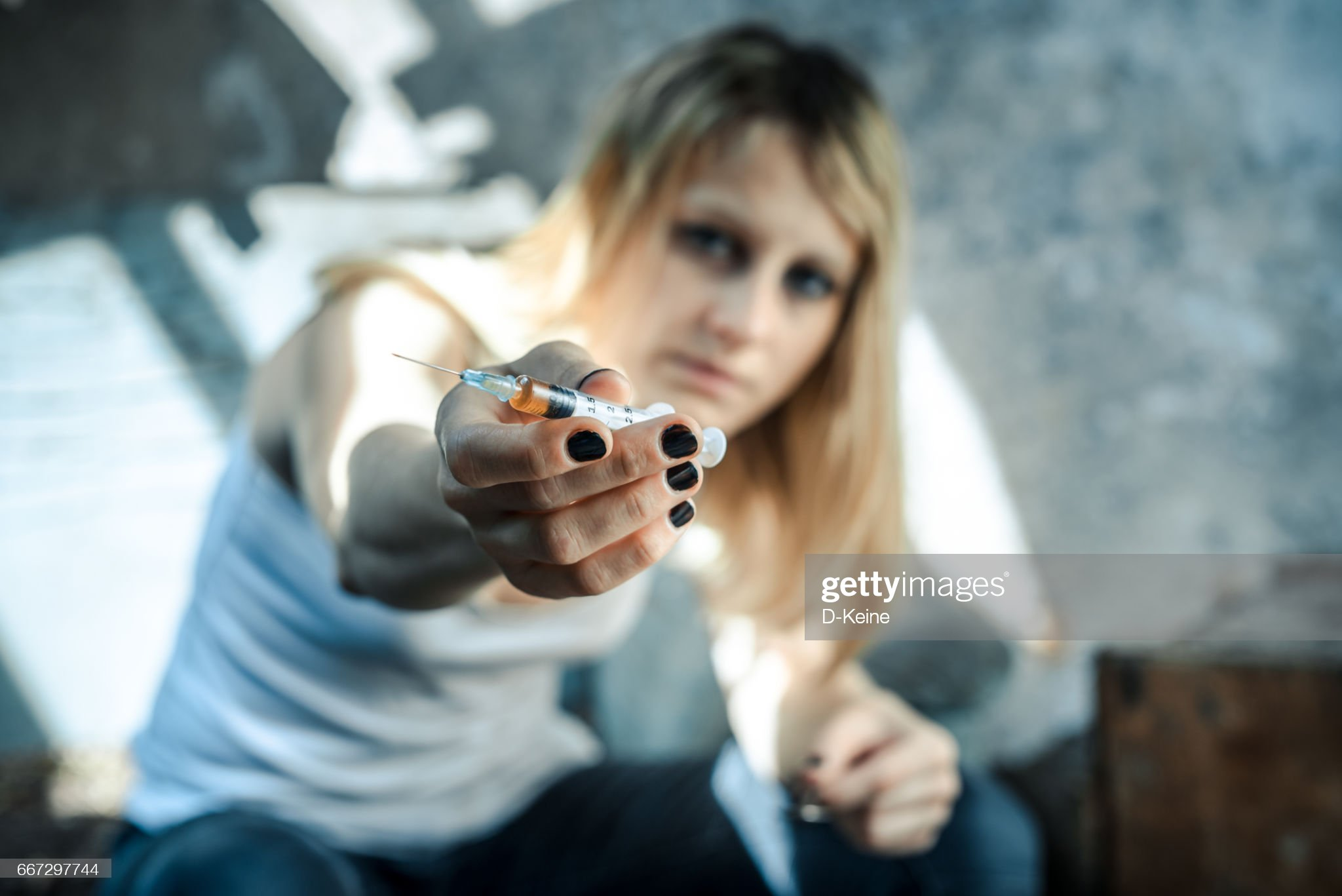 Drug addiction : Stock Photo