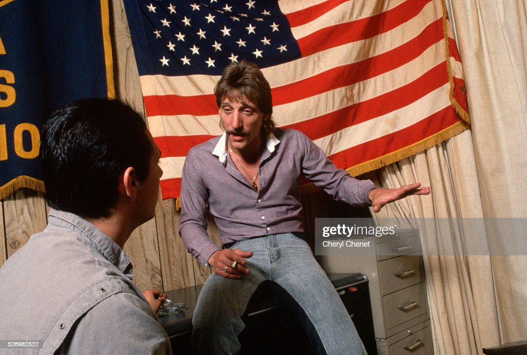 Drug Counselor With Recovering Drug Addict Pictures Getty Images