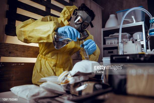 drug laboratory - amphetamine stock pictures, royalty-free photos & images