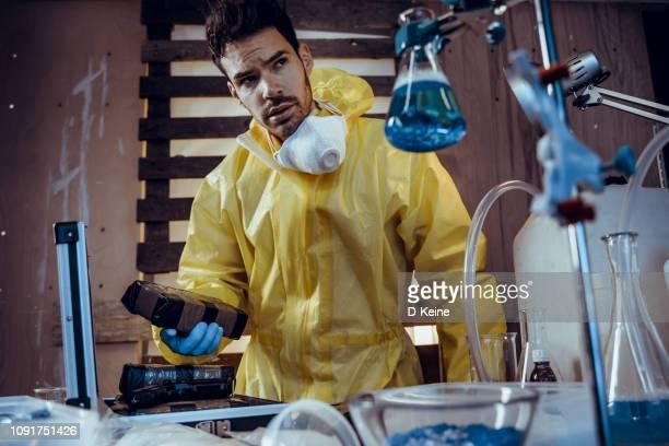 藥物實驗室 - crime or recreational drug or prison or legal trial 個照片及圖片檔