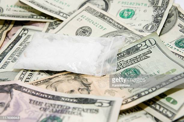 drug money - meth stock photos and pictures