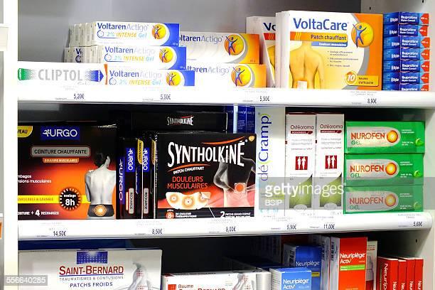 Drug on Shelf Overthecounter medicines
