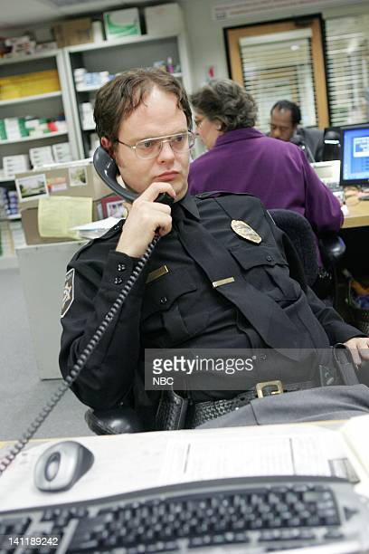 THE OFFICE Drug Testing Episode 20 Aired Pictured Rainn Wilson as Dwight Schrute Photo by Chris Haston/NBCU Photo Bank