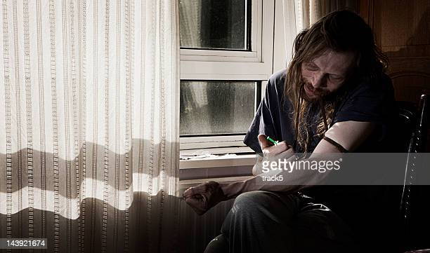drug user - addict stock photos and pictures