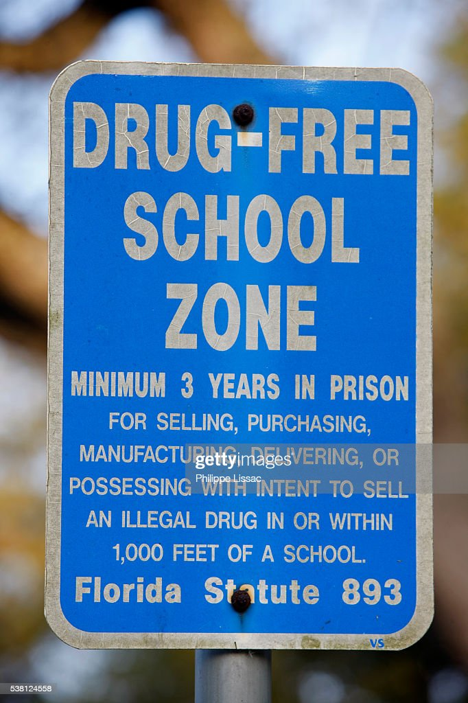 what is a drug free school zone