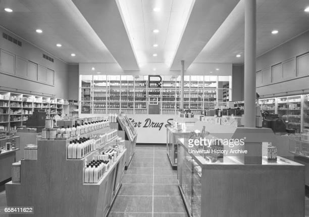Drugstore Interior Bronx New York USA GottschoSchleisner Collection January 1946