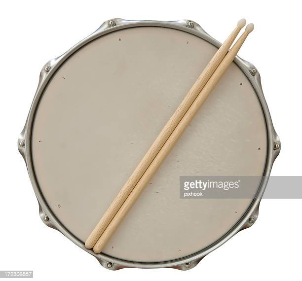 Drum and Sticks with Path