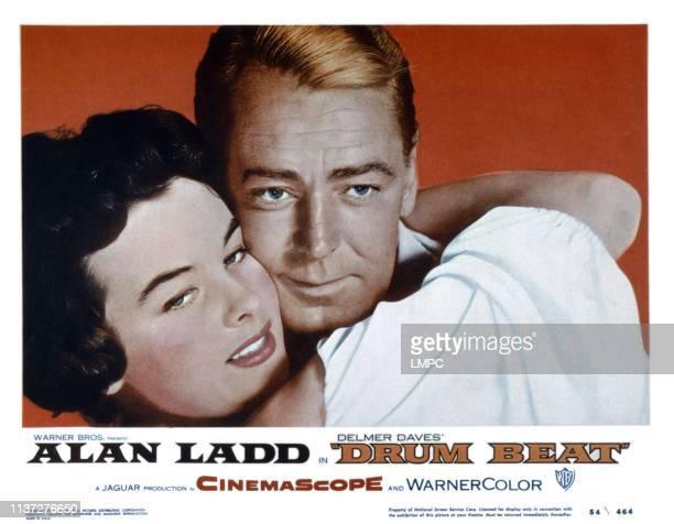 Audrey Dalton Alan Ladd 1954